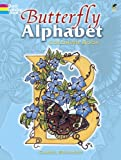 Butterfly Alphabet Coloring Book (Dover Coloring Books)