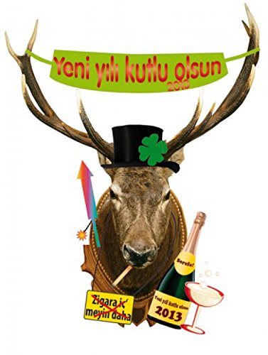 san-silvestro-deer-head-yeni-yili-kutlu-olsun-in-turkish-sticker-adesivo-da-parete-120-x-90cm