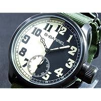 ビーバレル B-BARREL 手巻き式 腕時計 BB0046IPBK-2