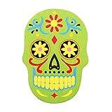 Nail filer Emery Borad Sugar skull Green personal care makeup Nails girly funky thing