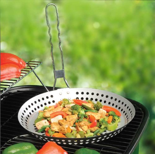 Grill Top Pan - BBQ Saute Skillet (22 Inch Frying Pan compare prices)