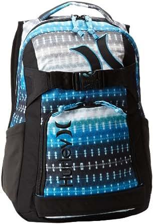 Hurley Men's Honor Roll 3 Skate Backpack, Black/Silver, One Size