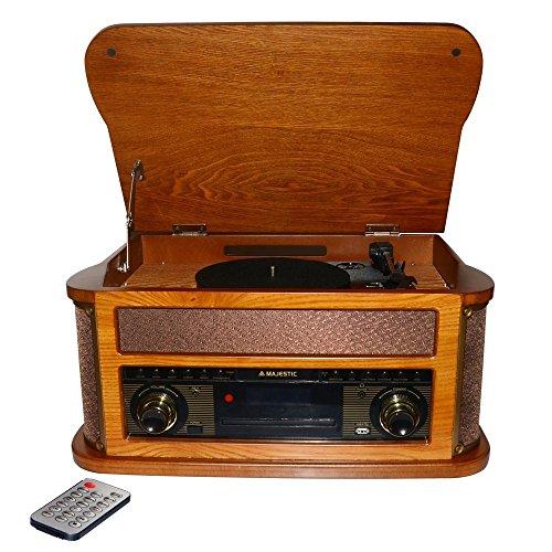Majestic TT-44 BT CD TP USB Sistema Home Audio
