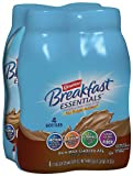 Carnation Instant Breakfast Nutritional Drink, Rich Milk Chocolate, No Sugar Added, 4-Count, 11-Ounce Bottles (Pack of 3)