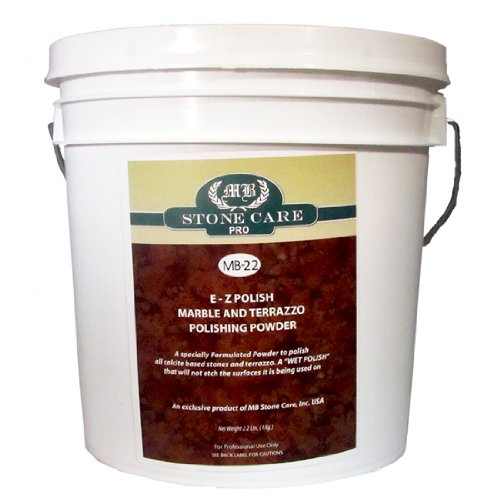 MB-22 EZ Marble and Terrazzo Polish -- 8lb Bucket