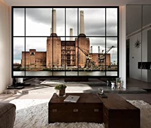 Awm1 View Of Battersea Power Station Large Apartment