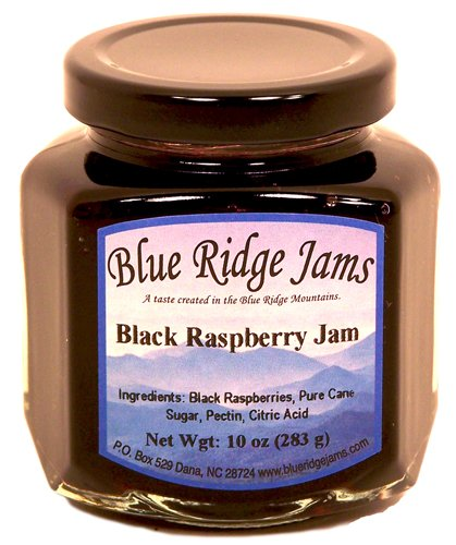 Blue Ridge Jams: Black Raspberry Jam, Set of
