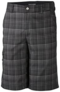 Columbia Sportswear Mens Cool Creek Stretch Plaid Shorts by Columbia