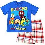 Pocoyo Toddler T-Shirt Top Shorts Set
