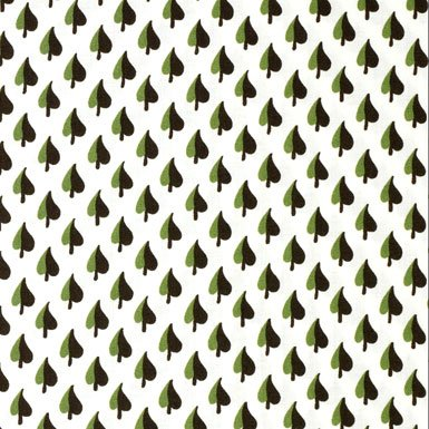 V&A Fabric - Leaf (Green)