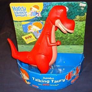 Bucket Full of Dinosaurs JUMBO TALKING Taury with DVD: Toys & Games