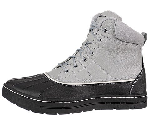Nike Woodside Acg Mens Boots [386469-090] Matte Silver/Black-Light Bone Mens Shoes 386469-090-10