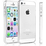 Swees® Case Cover Per Apple iPhone 5 / 5S, Chiaro Trasparente Ultra Sottile Silicone Gel - Apple iPhone 5 / 5S Custodia Cover Caso - trasparente