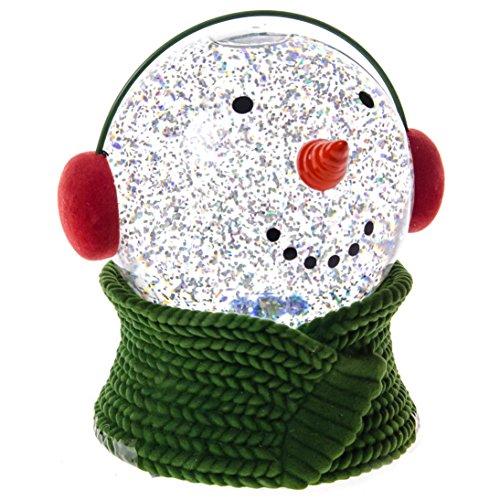 Christmas snowman water ball home decor