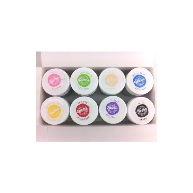 À glaçage Wilton EU Kit de couleur cerise 28g-8 couleurs