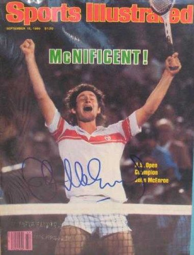 JOHN McENROE AUTOGRAPHED YOU CANNOT BE SERIOUS 2002 TENNIS BRAT ALL GROWN UP