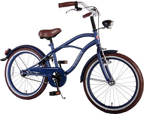 20-Zoll-Volare-Blue-Cruiser-Jungen-Kinderfahrrad-Fahrrad-blau