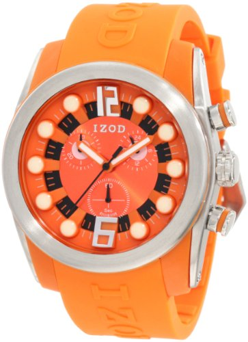 IZOD Men's IZS2/6 ORANGE Sport Quartz Chronograph Watch