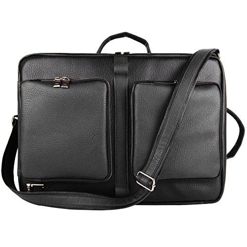 Lencca Quadra Collection Backpack & Messenger Bag For Acer Aspire V5 Series 14 To 15.6 Inch Ultrabook Laptops