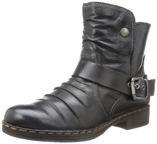 Tamaris Womens TAMARIS Desert Boots Black Schwarz (BLACK 001) Size: 6 (39 EU)