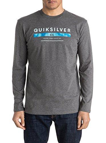 Quiksilver Men's Classic del punteggio-Maglietta a maniche lunghe per schermo, colore: grigio, taglia: XL