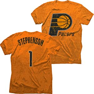 Indiana Pacers NBA Lance Stephenson #1 Tri-Blend Name & Number T-Shirt S by Majestic Threads