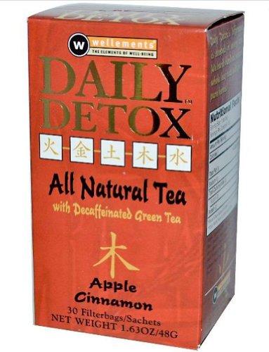 DAILY DETOX TEA APPLE CIN 30PK