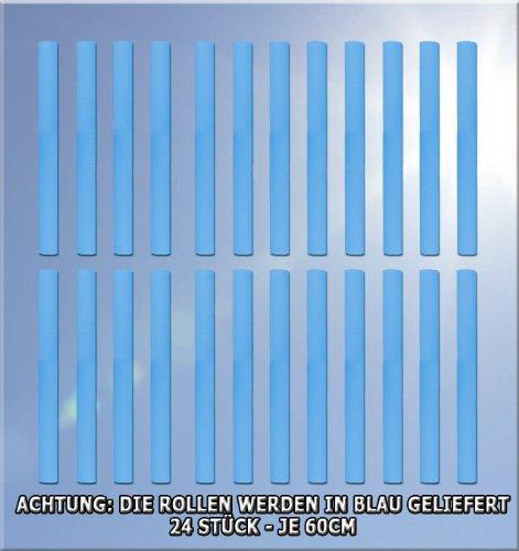 TW Schaumrollen Set Stangenschutz für Trampolin 244 - 305 - 366 - 430 - 460 - 488 Innenkerndurchm. 25 mm in blau -