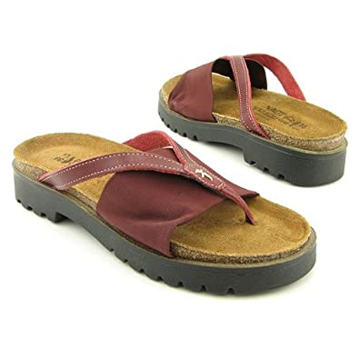 NAOT Orion Red Sandals Thongs Shoes Womens 4 = 35 EU