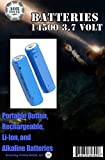 AOR POWER Type: 14500 Li-ion Battery 3.7V ,2 pcs NEW - US SELLER