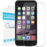 iPhone 6 Plus Screen Protector, Maxboost [Tempered Glass] 0.2mm Ballistic Glass Screen Protector Work with iPhone 6 Plus and Protective Case [Lifetime Warranty] - Ultra Clear Glass