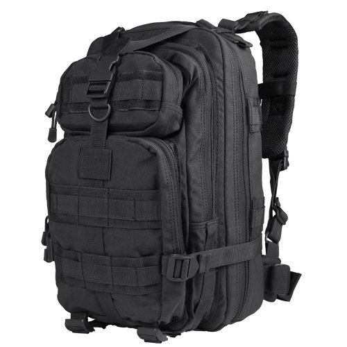 Condor Compact Assault Pack (Black, 1362-Cubic Inch)