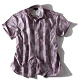 [3L・4L・5L・6L]DANIEL DODD パッチワーク風チェックシャツ azsh-14s10 大きいサイズ メンズ