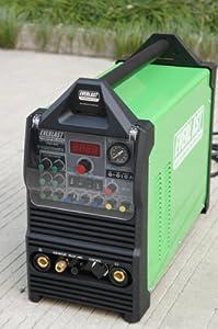 2013 Everlast PowerPro 205S 200a Tig Stick Pulse 50a plasma cutter Multi Process Welder by Everlast