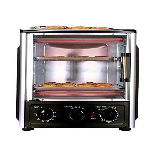 NutriChef PKMFT039 Multi-Function BBQ Oven with Rotisserie and Roast Cooking (Above Range Convection Oven compare prices)