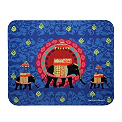TEC Mousepad Blue Elephant Butti