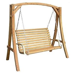 12786 balancelle hollywood en bois jardin. Black Bedroom Furniture Sets. Home Design Ideas
