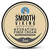 Hair Styling Fiber for Men - Pliable Molding Wax Product with Medium Hold & Minimal Shine - For Modern Hairstyles - Thickens, Texturizes & Increases Fullness in Thinning Hair - 2 OZ - Smooth Viking (Tamaño: 2 Ounces)