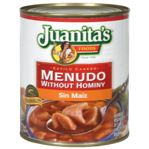 Juanitas Menudo Without Hominy, 29.5-Ounce (Pack of 4) (Canned Menudo compare prices)