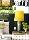img - for House Beautiful Magazine (January, 2004) book / textbook / text book