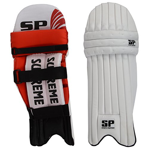 SP Sports Panther Supreme Unisex Leather And PU Leg Guard