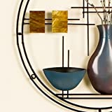 Hand Painted Stained Glass Vase & Bowl Wall Art