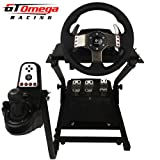 GT Omega Steering Wheel stand suitable For Logitech G25 G27, Thrustmaster T500RS and TH8RS shfiter. PS3 GT5