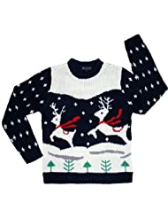 Ugly Christmas Sweater Prancing Skedouche