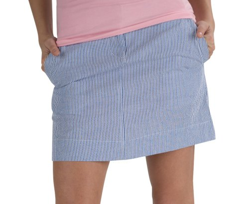 Seersucker Skirt - 15 Inch