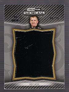 JEFF BURTON 2010 Press Pass Showcase Prized Pieces RACE USED SHEET METAL Card #46 Of... by Showcase