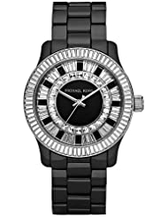 Michael Kors Baguette Crystal Black Ceramic Mens Watch MK5362