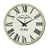 MeSleep Paris Vintage Wall Clock With Glass Top