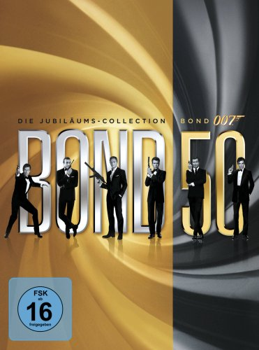 James Bond - Bond 50: Die Jubiläums-Collection (ohne Skyfall) (22 Discs)