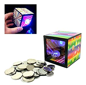 Strange magic money box gifts runs out of coins put [KUENTAI] magic trick joke toy jokes